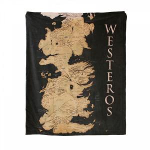 Gra o tron - koc z mapą Westeros