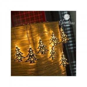 Świąteczne lampki LED - choinki