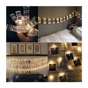 Podświetlane klamry LED na zdjęcia