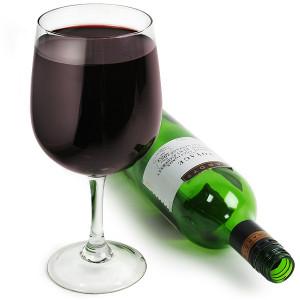 Gigantyczny kielich wina