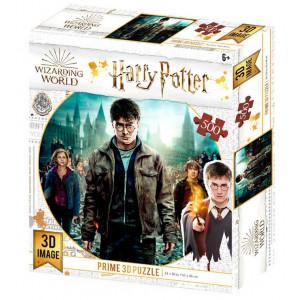 Harry Potter - 3D puzzle - Harry, Ron i Hermiona - 500