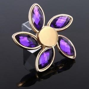 Fidget Spinner - Diamant fialový