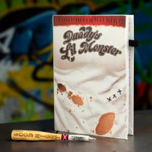 Harley Quinn - notatnik z długopisem