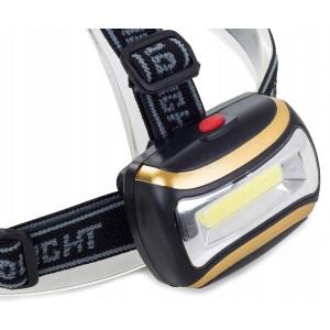 Latarka czołowa LED z paskami 3W