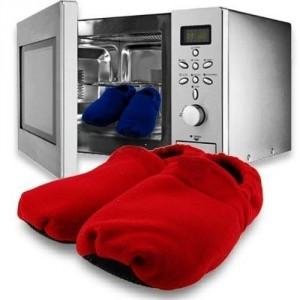 Ohrievateľné papuče do mikrovlnky