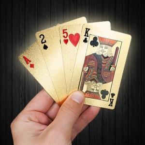 Pozłocone karty do gry