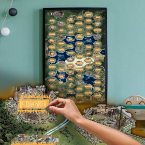 Mapa Zdrapka CityBreak - specjalny