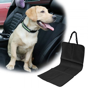 Ochronna koc do auta dla psa - na siedzeniu