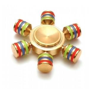 Fidget Spinner - Hexa kovový