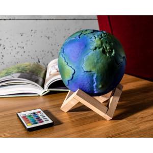 Lampa 3D - Ziemia