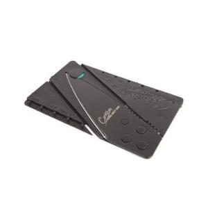 Karta kredytowa - nóź