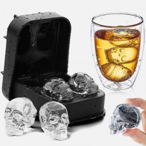 Forma na lód - czaszka