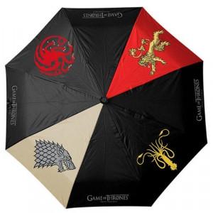Game of Thrones - parasol z herbami rodów