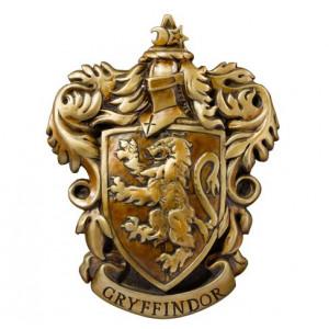 Harry Potter - herb Gryffindor na ścianie DELUXE