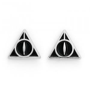 Harry Potter - kolczyki Insygnia Śmierci