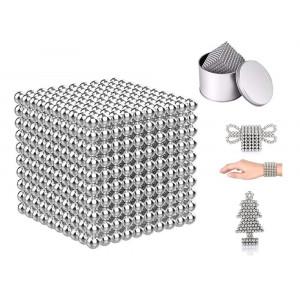 Neocube - srebrny 1000 kulek