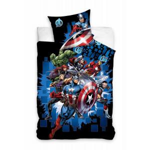 Marvel - Komplet pościeli - Avengers 140x200 - v2