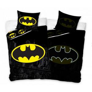 Batman - Świecący komplet pościeli 140x200