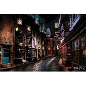 Harry Potter - plakat Ulica Pokątna