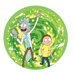 Rick and Morty - podkładka pod mysz