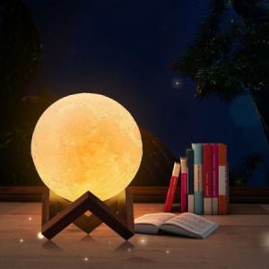 Lampa 3D - księżyc