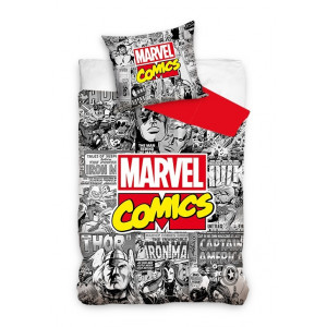 Marvel - Komplet pościeli - Avengers 160x200