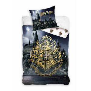 Harry Potter - Komplet pościeli Hogwart 140x200