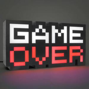 GAME OVER światło