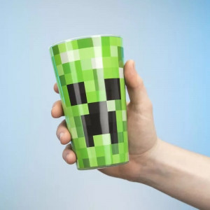 Minecraft - szklanka Creeper