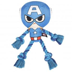 Marvel - lina do przeciągania dla psa Kapitan Ameryka