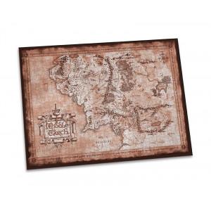 Władca Pierścieni - puzzle mapy Śródziemia 1000