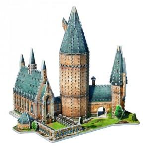 Harry Potter - Puzzle 3D Wielka Sala Hogwart