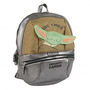 Mandalorian - plecak z motywem dziecka v2