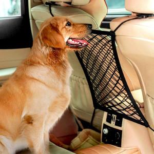 Siatka między siedzeniami w autu