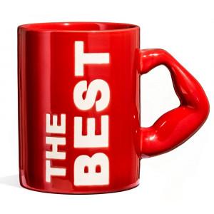Kubek THE BEST - czerwony