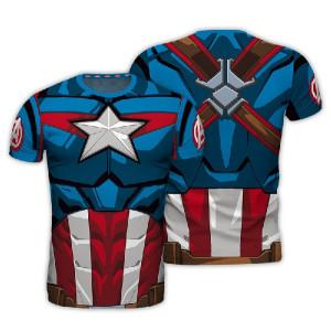 Marvel Avengers - koszulka Kapitan Ameryka