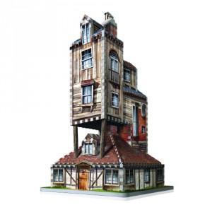 Harry Potter - Puzzle 3D Nora (Dom rodziny Weasleyów)