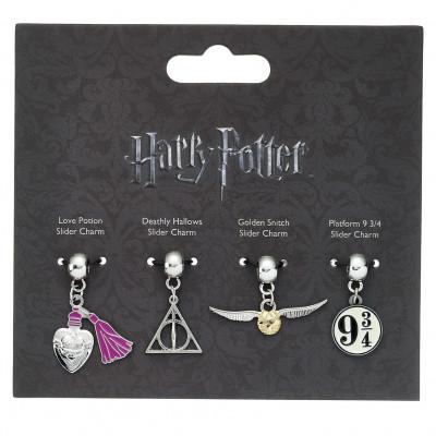 99b26a01d Harry Potter - set 4 ks čarodejníckych príveskov - Harry Potter ...