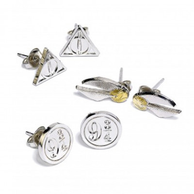Harry Potter - set 3 párů náušnic