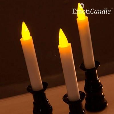 Elektrická svíčka z vosku - svicen (baleni 3ks)