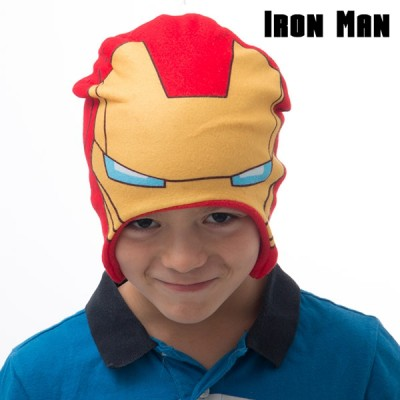 Iron Man - čiapka pre deti