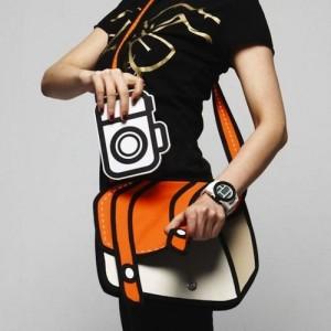2D taška - oranžová