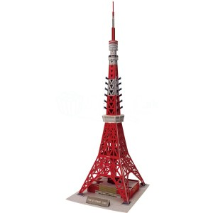 3D puzzle - Tokyo Tower