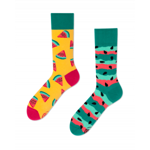 Veselé ponožky - Červený meloun