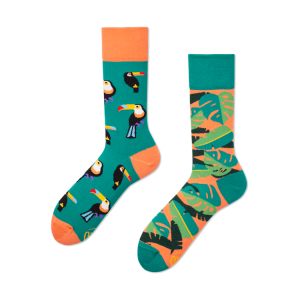 Veselé ponožky - Tropické teplo
