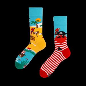 Veselé ponožky - Ostrov pirátů