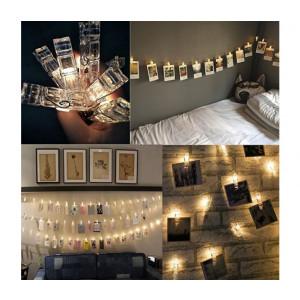 Svítící LED kolíčky na fotky