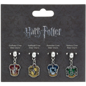 Harry Potter - set 4 ks přívěsků - Bradavické fakulty