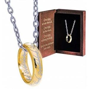 Pán Prstenů - Prsten moci s přívěskem DELUXE