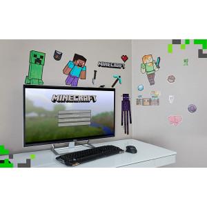 Minecraft - Sada nálepek na zeď